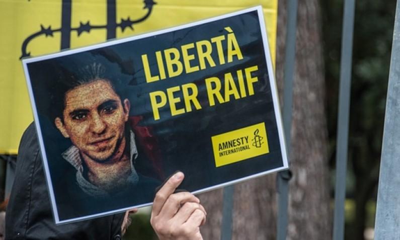 Premio per la libertà di espressione Sakharov 2015 a Raif Badawi