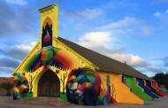 In Marocco la chiesa abbandonata diventa un'opera d'arte