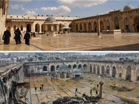 Siria: iniziata la ricostruzione del suq e Moschea Omayyadi di Aleppo