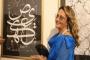 Antonella Leoni ospite d'onore alla Biennale internazionale di arte della calligrafia araba del Cairo