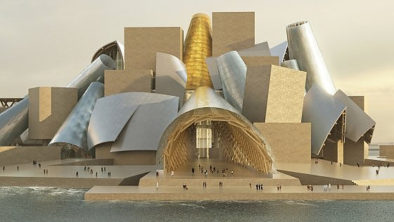 Abu Dhabi: il nuovo Guggenheim di Gehry nel 2022
